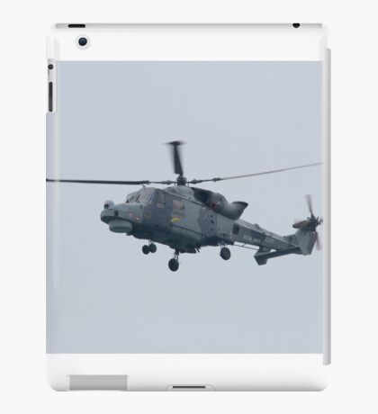 Royal Navy Lynx Helicopter iPad Case/Skin