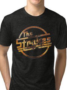 Strokes logo Tropical Tri-blend T-Shirt