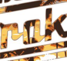 Strokes logo Tropical Sticker