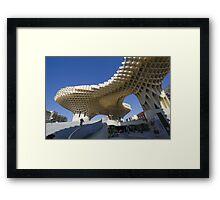 Metropol Parasol in Seville, Spain Framed Print