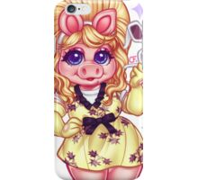 The Fabulous Miss Piggy iPhone Case/Skin