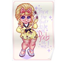 The Fabulous Miss Piggy Poster