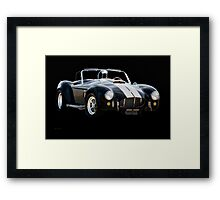 1966 Shelby Cobra 'Raiders' Roadster Framed Print