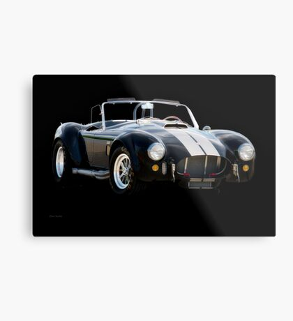 1966 Shelby Cobra 'Raiders' Roadster Metal Print