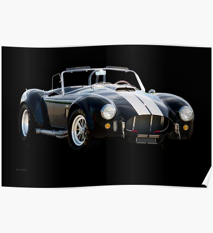 1966 Shelby Cobra 'Raiders' Roadster Poster
