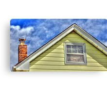 Roof and Chimney Canvas Print