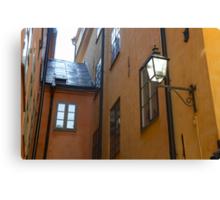 Gamla Stan, Stockholm Canvas Print