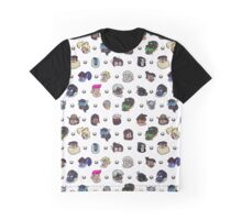 CHOOSE YOUR HERO Graphic T-Shirt