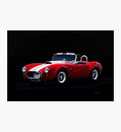 1966 Shelby Cobra 'Little Red' Roadster Photographic Print