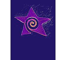 Spiraling Star * Photographic Print