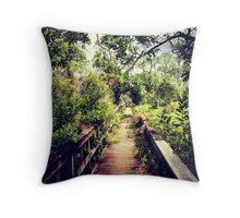 Florida Foliage 2 Throw Pillow