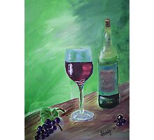 Finger Lakes Wine Photographic Print