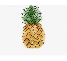 Pineapple Photographic Print