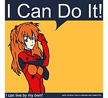 Asuka can do it! Photographic Print