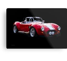 1965 Shelby Cobra 'Rally' Roadster I Metal Print