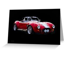 1965 Shelby Cobra 'Rally' Roadster I Greeting Card