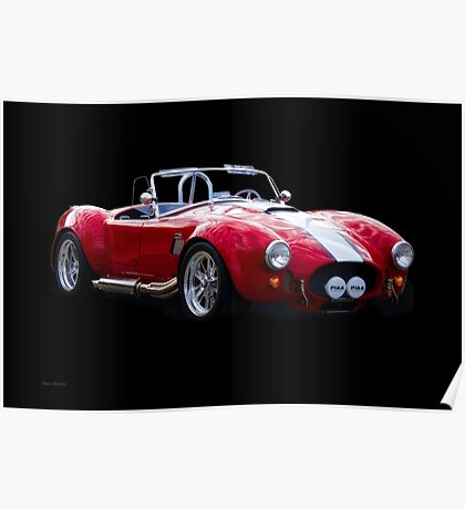 1965 Shelby Cobra 'Rally' Roadster I Poster