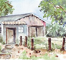 Life on a smallholding by Maree  Clarkson
