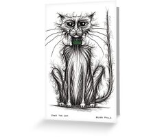 Jake the cat Greeting Card