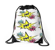 BANG POP WOW Drawstring Bag