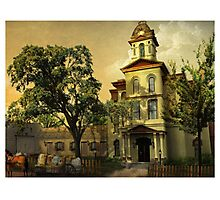 Vintage Cabarrus County Courthouse Photographic Print
