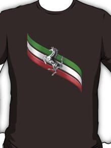 Ferrari Lover #2 [Silver - Black] T-Shirt
