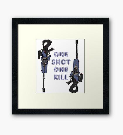 one kill Framed Print