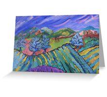 Vineyard Valley Greeting Card