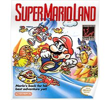 Gameboy Super Mario Land  Poster
