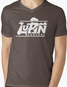 Lupin Central - Gone out for a ride! Mens V-Neck T-Shirt