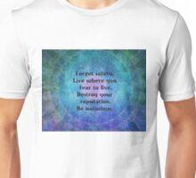 Rumi uplifting quote  Unisex T-Shirt