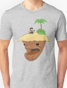 Monkey and Island, simplified Unisex T-Shirt