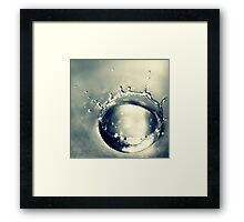 WATERDROP III Framed Print