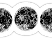 The Lunar Cycle Sticker
