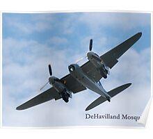 DeHavilland Mosquito Poster