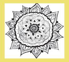 Flower Mandala One Piece - Short Sleeve