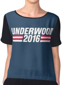 Frank Underwood 2016 - High Quality Resolution Chiffon Top