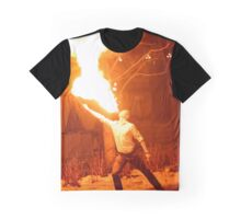Fire breather Graphic T-Shirt