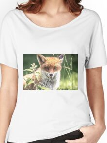 The young Fox Women's Relaxed Fit T-Shirt