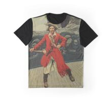 Pirate Captain Graphic T-Shirt