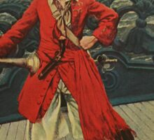Pirate Captain Sticker