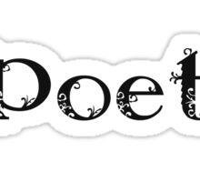 I Love Poetry Sticker