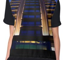 Building in the blue hour Chiffon Top