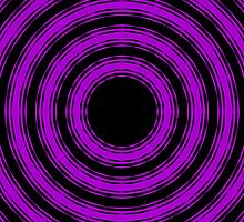 In Circles (Purple Version) by Roz Barron Abellera