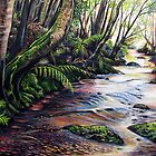 Along the Creek, Blue Mountains by © Linda Callaghan
