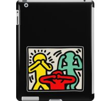 3 monkey iPad Case/Skin