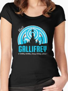Gallifrey Doctor Women's Fitted Scoop T-Shirt