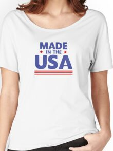 Made in the USA Women's Relaxed Fit T-Shirt