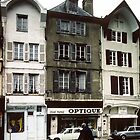 Place de St Urbain Troyes France 198405060001 by Fred Mitchell