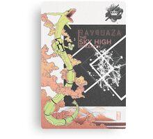 Rayquaza Edit Canvas Print